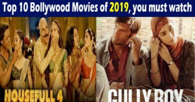 Bollywood movies of 2019