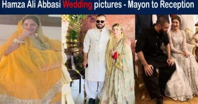 hamza ali wedding pictures