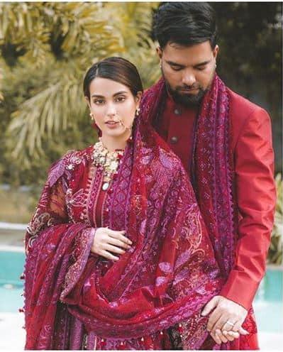 iqra aziz and yasir hussain wedding