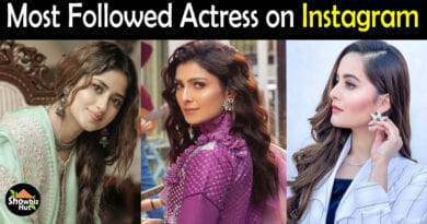 Most Followed Pakistani Actress on Instagram