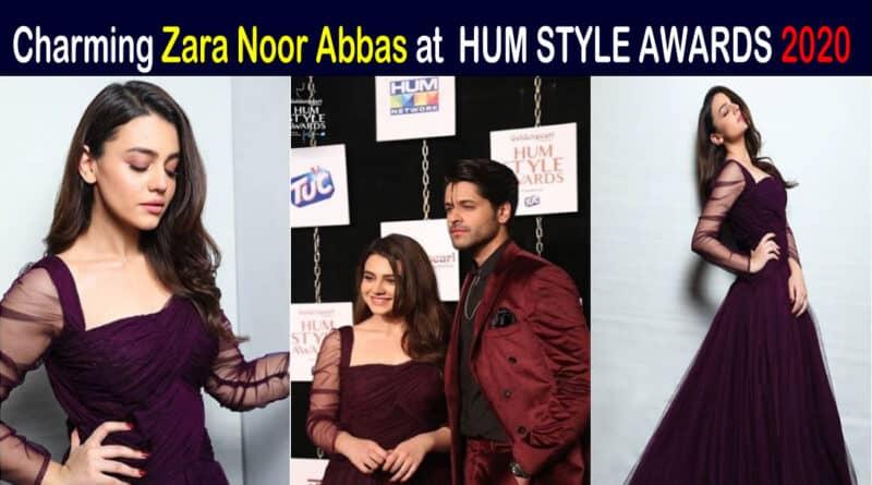 zara noor abbas hum style awards 2020