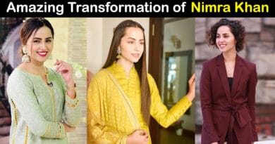nimra khan weight loss