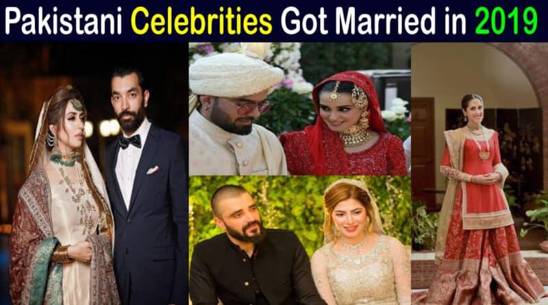 pakistani celebrities wedding 2019