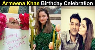 armeena khan birthday
