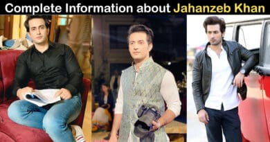 jahanzeb khan biography