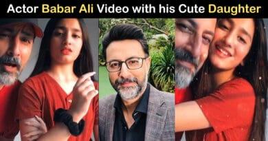 babar ali daughter video