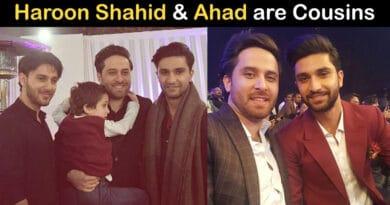 haroon shahid and ahad raza mir