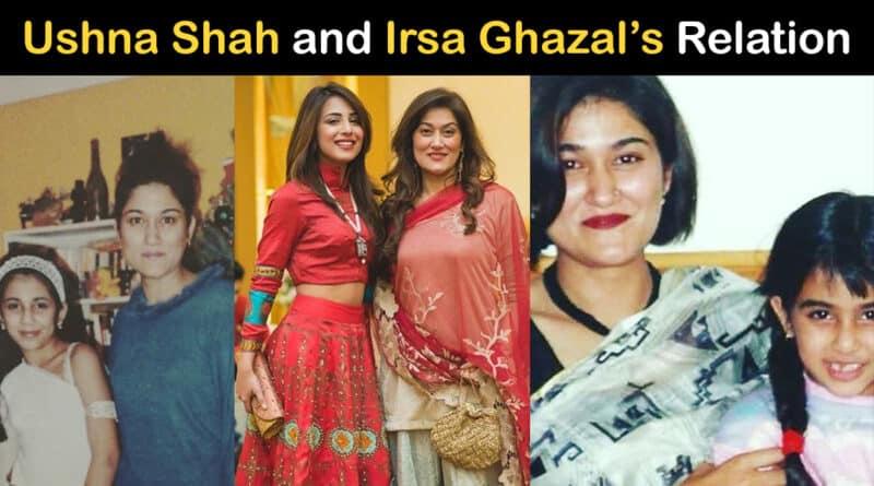 ushna shah sister irsa ghazal