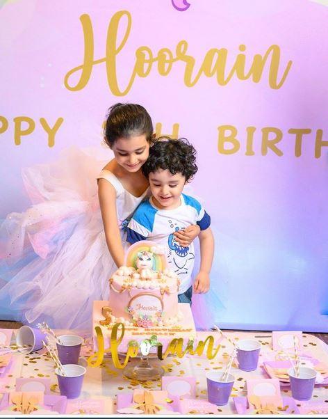 ayeza khan daughter 5th birthday