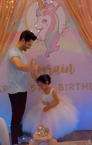 ayeza khan daughter birthday