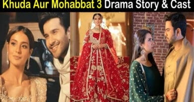 khuda aur mohabbat 3 drama cast