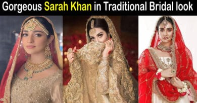 sarah khan bridal pics
