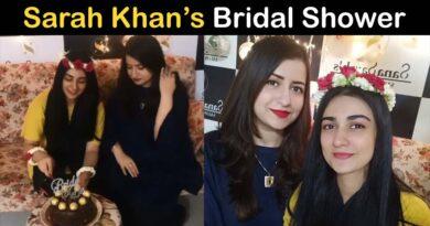sarah khan bridal shower