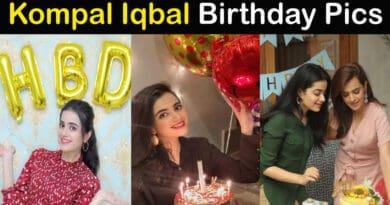 Kompal Iqbal birthday pics