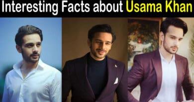 Usama Khan Actor Biography