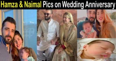 Hamza Ali Abbasi wedding Anniversary