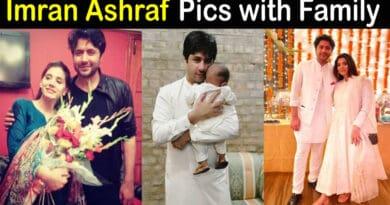imran ashraf wife and son