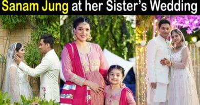 Sanam Jung Sister Wedding