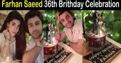 Farhan Saeed Birthday Pics