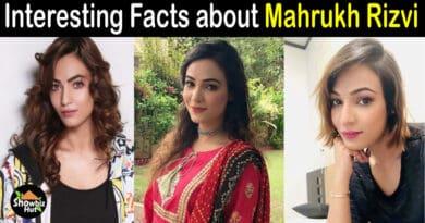 Mahrukh Rizvi Biography