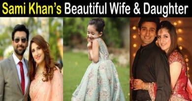 Sami Khan wife and daughter