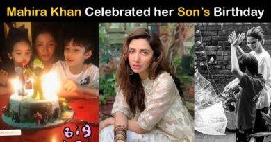 Mahira Khan Son Azlan Birthday