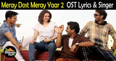 Meray Dost Meray Yaar 2 OST Lyrics