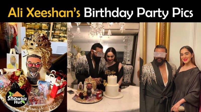 ali xeeshan birthday pics