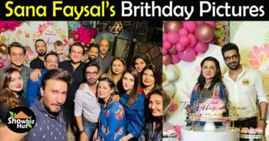 Faysal Qureshi wife birthday