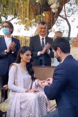 Rehmat Ajmal Engagement Pics