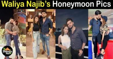 Waliya Najib honeymoon pics