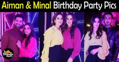Aiman Minal Birthday PIcs