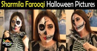 Sharmila Farooqi Halloween Pics
