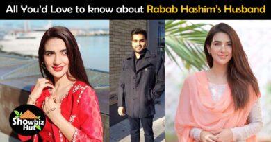 actress rabab hashim husband name photos
