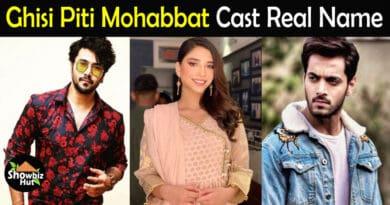 Ghisi Piti Mohabbat Drama Cast Name