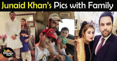 Junaid Khan Wife Pics