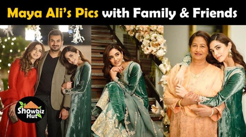 maya ali pics with family