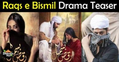 Raqs e Bismil drama teaser