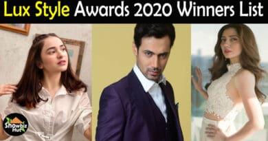 Lux Style Awards 2020 Winners