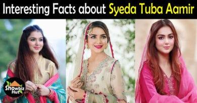 Syeda Tuba Aamir Biography