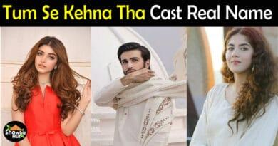 Tum Se Kehna Tha drama Cast Name