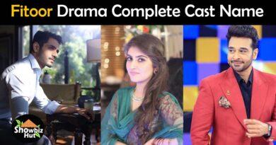 fitoor pakistani drama cast