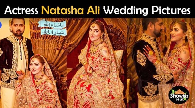 natasha ali wedding pics