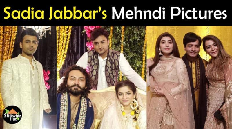 Sadia Jabbar Mehndi Pics