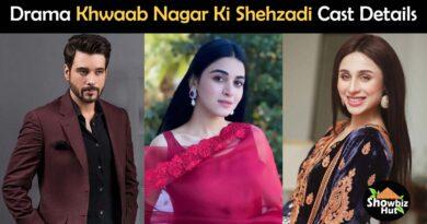 khwaab nagar ki shehzadi drama cast name