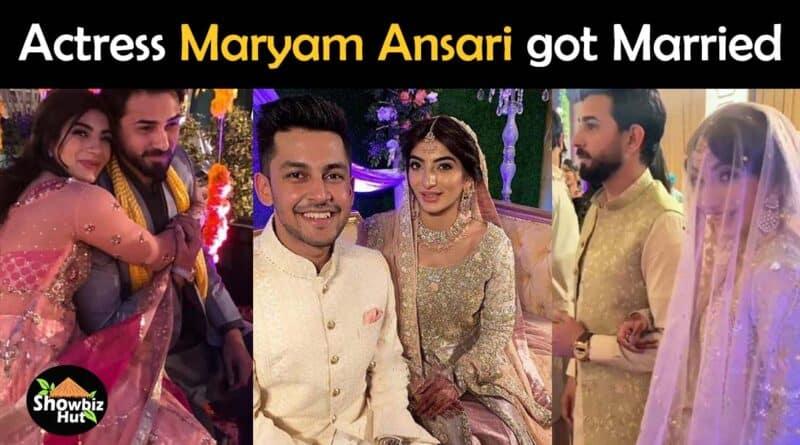 maryam ansari wedding pics