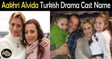 Aakhri Alvida Turkish Drama Cast