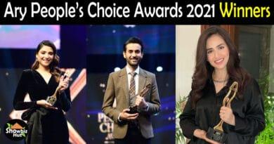 Ary People's Choice Awards 2021 Winners