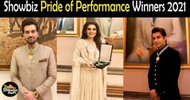 Pride of Performance Winners 2021