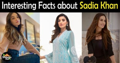 Sadia Khan Biography